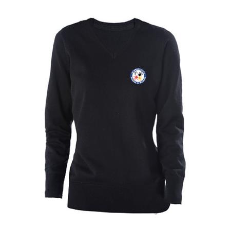 granatowy damski sweter (1)